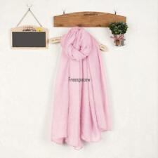 Women Fashion Soft Blanket Candy Colors Long Cotton Scarf Wrap Shawl FPAW 01