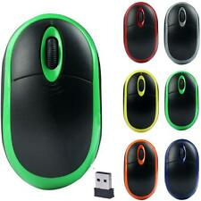 2.4GHz Wireless Mouse USB Optical 3D Buttons Mice Receiver Gaming Mouse Gamer
