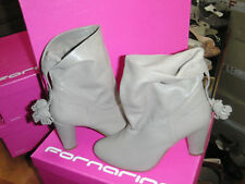 FORNARINA boots smog leather NEW Tal 8cm Val 189E sizes 37,38,39