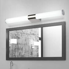 14W LED Stainless Steel Bathroom Toilet Wall Fixture Lamp Front Mirror Light
