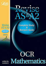 Letts A-level Revision Success - OCR AS and A2 Maths: Study Guide by Peter...