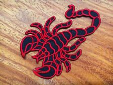 SCORPIONS Embroidered Sew Iron On Patch Heavy Metal Logo Rock Band Music DIY