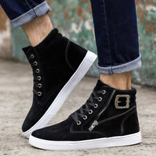 Men Casual Canvas Shoes Sneakers Fashion Spring Autumn Lace-Up Ankle Boots Shoes