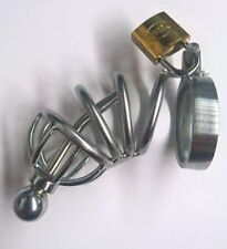 Male Asylum Cock Plug and Chastity Device BDStyle