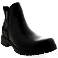 Womens Timberland Lyonsdale Chelsea Snow Leather Winter Black Ankle Boots UK 3-9