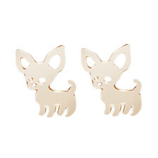 Women Pet Cute Christmas Ear Accessories Chihuahua Jewelry Earring Dog Stud