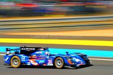 Alpine A4508-Nissan 24 Hours of Le mans 2015 photograph picture poster print