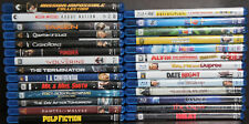 Assorted Blu-ray Movie Discs - No Digital Codes!! No DVD!! Only Blu-ray and Case