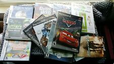 Variety of Video Game Cases/Booklets (DS, Xbox 360, Wii, PS2, SNES, NES)