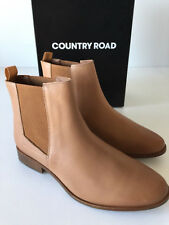 # COUNTRY ROAD # isabella gusset leather boots [ size: 38,39,40,42 ] $199