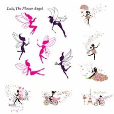Flower Fairy Vinyl Decal Art Mural Wall Sticker Removable Home Room Decor