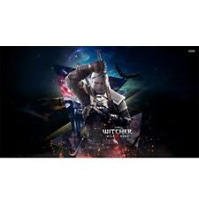The Witcher 3 Wild Hunt Game Geralt Poster Silk Fabric Poster HD Printing Large