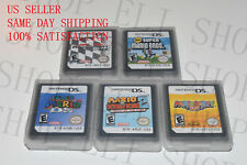 Mario Kart Party New Super Mario Bros 64 For NDS Lite DS DSI DSL DSI 3DS XL US