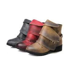 New Womens Casual Smart Low Heel Ankle Boots Size Ladies Court Shoes OSQ-99-2