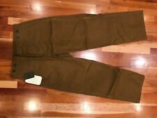 NEW FILSON Men's Double Tin Oil Finish Pants Size 28 Field Hunting $225 USA MADE