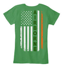 Irish Airborne St. Patricks Day Tribute - Women's Premium Tee T-Shirt