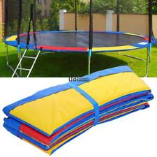 10/12/14/15ft Round Trampoline Safety Pad Frame Protection Cover Replacement Gym