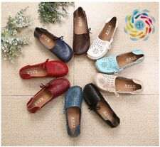 Women Flats Shoes Women loafers Slip on Flats Genuine Leather Driving Shoes