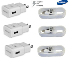 OEM Samsung Galaxy S6 S7 Edge Note 4 5 Fast Charging USB Wall Charger+Cable