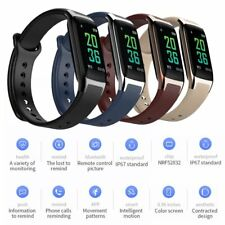 Waterproof Bluetooth Smart Bracelet Band Wrist Watch Phone Mate For Android IOS