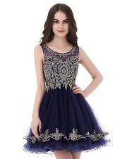 US Women's Short Beading Homecoming Dress For Juniors A Line Prom Ball Gown