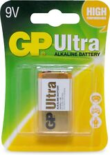 GP - 9V ULTRA ALKALINE BATTERY SINGLE CARD
