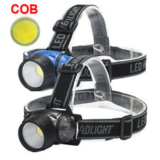 5000LM Bicycle Bike COB LED Headlight Front Ride Riding Cycling Head Light Lamp