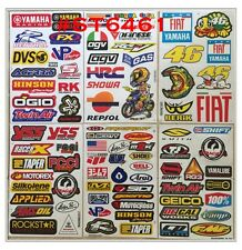 Set 6 sh of ATV CAR HELMET MOTO-GP SCOOTER BIKE RACING TRUCK RC Stickers #AU