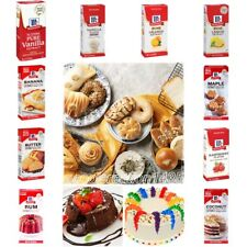 McCormick PURE EXTRACT VANILLA ORANGE LEMON FOOD OTHER NATURAL FLAVOUR DESSERTS