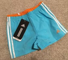New Baby Boys Smart Adidas Swim Swimming Summer Shorts Age 12-18 Months