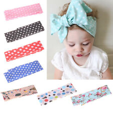 DIY Bowknot Headband Cute Kids Baby Girls Hair Bow Clips Barrette Accessories IO