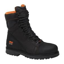 """Timberland PRO Men's Rigmaster 6"""" Leather Steel Toe Boots Waterproof Work Qualit"""