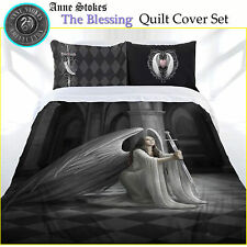 3 Pce The Blessing Gothic Fantasy Quilt Cover Set Anne Stokes DOUBLE QUEEN KING