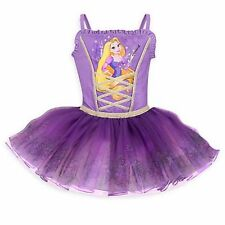 NWT Disney Store Princess Leotards Rapunzel Girls SZ 7/8