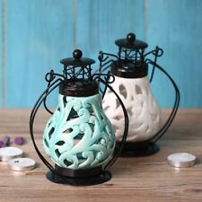 Chinese Style Ceramic Candlestick Candle Lamp Holder Stand Home Party Ornament