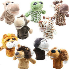 Cute Cartoon Animal Doll Kids Glove Hand Puppet Soft Plush Toys Story Telling