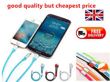 3 in1 Charging Cable Universal Charger Sync USB for Android iPhones Tablets