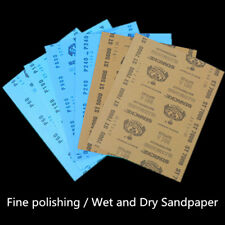 9 x 11'' Wet and Dry Sandpaper 1000 1500 2000 3000 5000 7000 Grit Sanding Paper