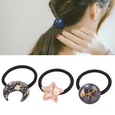 Cute Women Elastic Starfish Rubber Hair Rope Hair Band Rope Ponytail Holder
