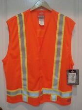 Dickies High Visibility ANSI Class 1 Ansi Orange Safety Vest NWT