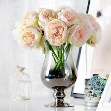 European Artificial Flower Fake Peony Bouquet Wedding Party Home Decoration