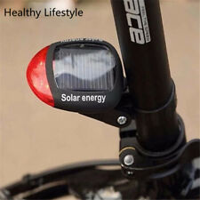 Bike Light Solar Powered LED Rear Flashing Tail Light for Bicycle Cycling Lamp