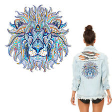 Iron-on Transfer Clothes Patches Cool 3D Lion King Stickers for Tops T-shirt
