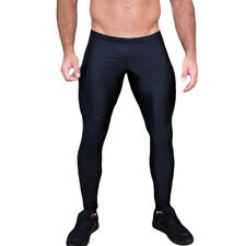 Men Gym Sports Thermal Tight Compression Base Layer Pants Long Leggings Trousers