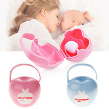 Newborn Infant Baby Soother Holder Storage Case Pacifier Dummy Travel Box