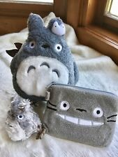 My Neighbor Totoro Plush Pouch ID Card Bag/ Coin Wallet / 3