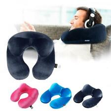 Travel Pillow For Airplane Inflatable Neck Pillow Travel Accessories 4 Colors