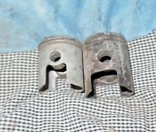 Vintage Hodaka Ace 90 Motorcycle Set of Two Pistons, Used Parts  Free Shipping