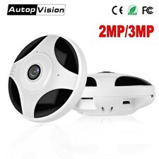 HD 1080P 3MP 360 Degree Fisheye Panoramic Camera Wireless 3D VR Panorama HD IP