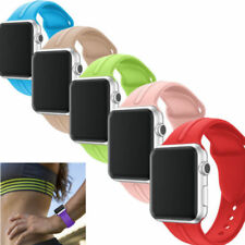 Soft Silicone Band for Apple Watch Belt iWatch Series 1 2 3 Wristband Bracelet